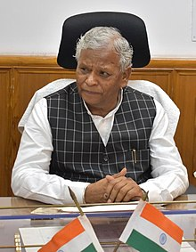 Shri Rattan Lal Kataria taking charge as the Minister of State for Jal Shakti, in New Delhi on May 31, 2019 (cropped).jpg
