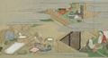 Shuhanron emaki - BNF - tri du riz et préparation du thé.png