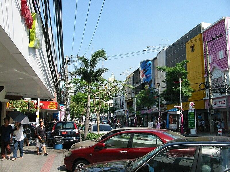 Siam Square, Bangkok, Thailand.
