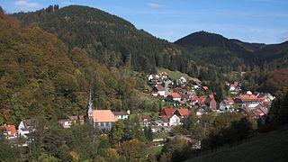 Sieber (Herzberg am Harz) village in the Harz Mountains, Germany