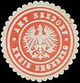 Siegelmarke Amt Seedorf Kreis Segeberg W0325639.jpg