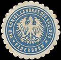 Siegelmarke Der K. Landrat des Kreises Paderborn W0387698.jpg