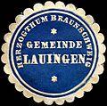 Siegelmarke Herzogthum Braunschweig - Gemeinde Lauingen W0223135.jpg