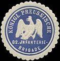Siegelmarke K.Pr. 82. Infanteriebrigade W0348268.jpg