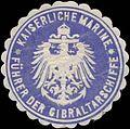 Siegelmarke K. Marine Führer der Gibraltarschiffe W0357427.jpg