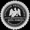 Siegelmarke K. Pr. Infanterie Regiment Grossh. Friedrich Franz II. von Mecklenburg Schwerin (4. Brandenburgisches) N. 24 W0285537.jpg