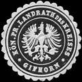 Siegelmarke K. Pr. Landrath des Kreises - Gifhorn W0233632.jpg