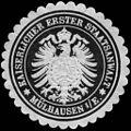 Siegelmarke Kaiserlicher Erster Staatsanwalt - Mülhausen im Elsass W0227173.jpg