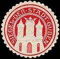 Siegelmarke Siegel der Stadt Guben W0260576.jpg