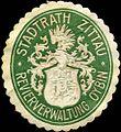 Siegelmarke Stadtrath Zittau - Revierverwaltung Oybin W0220364.jpg