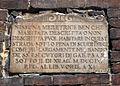 Siena, targa anti meretricio in via di castelvecchio.JPG