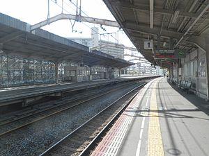 Shigino Station - Image: Sigino kudarihome