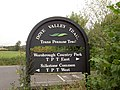 Sign on the Trans Pennine Trail. - geograph.org.uk - 543435.jpg