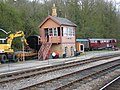 Signal Box, Highley Station, Severn Valley Railway - geograph.org.uk - 2372.jpg