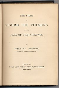 The Story of Sigurd the Volsung and the Fall of the Niblungs cover