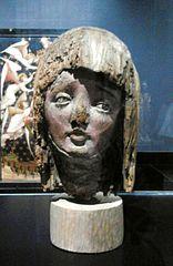 Głowa Marii ze sceny pasyjnej