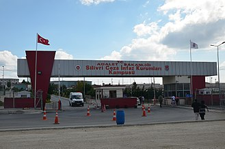 Silivri Prison - Main entrance to the Silviri Prison.