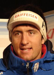 Silvan Zurbriggen Swiss alpine skier
