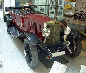 Simson (company) - 1925 Simson-Supra model So
