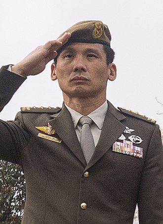 Chief of Defence Force (Singapore) - Image: Singapore Army Lieutenant General Perry Lim Cheng Yeow (Flickr id 38876138601)