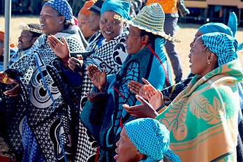 Picture of Basotho Women
