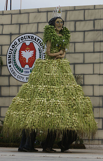 Sinulog - The coat of arms as part of the Sinulog Foundation logo
