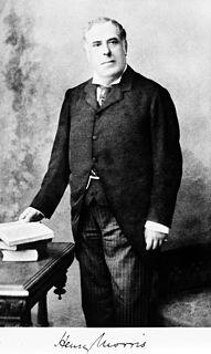 Sir Henry Morris, 1st Baronet British doctor