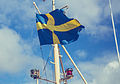 Skeppsholmen Swedish Flag (15296675324).jpg