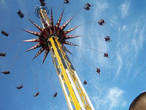 SkyScreamer - Image: Sky Screamer at Six Flags Fiesta Texas