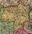 Slánský kraj na Vogtově mapě 1712.jpg