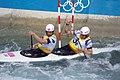 Slalom canoeing 2012 Olympics C2 GBR Timothy Baillie and Etienne Stott 3.jpg