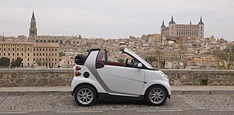 Smart (marque) - smart Fortwo cabriolet