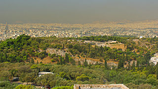 Καπνομίχλη στην Αθήνα (φωτό: Karol M/Wikipedia)