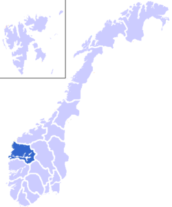 Location in Norway