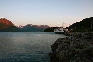 Sula, Møre og Romsdal - View of the Solevågen ferry quay