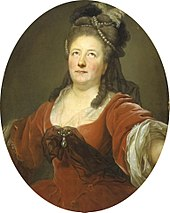 His second wife Friederike Sophie Seyler, Germany's most famous actress of the late 18th century, painted by Anton Graff (Source: Wikimedia)