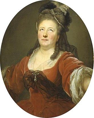 Seyler family - Actress and playwright Friederike Sophie Seyler (1737/38–1789), painted by Anton Graff, Kunsthalle Hamburg