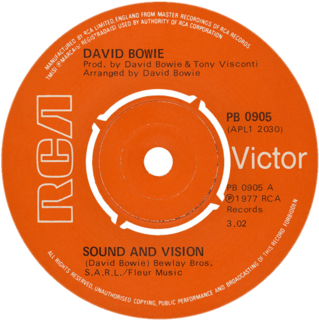 Sound and Vision Song by David Bowie