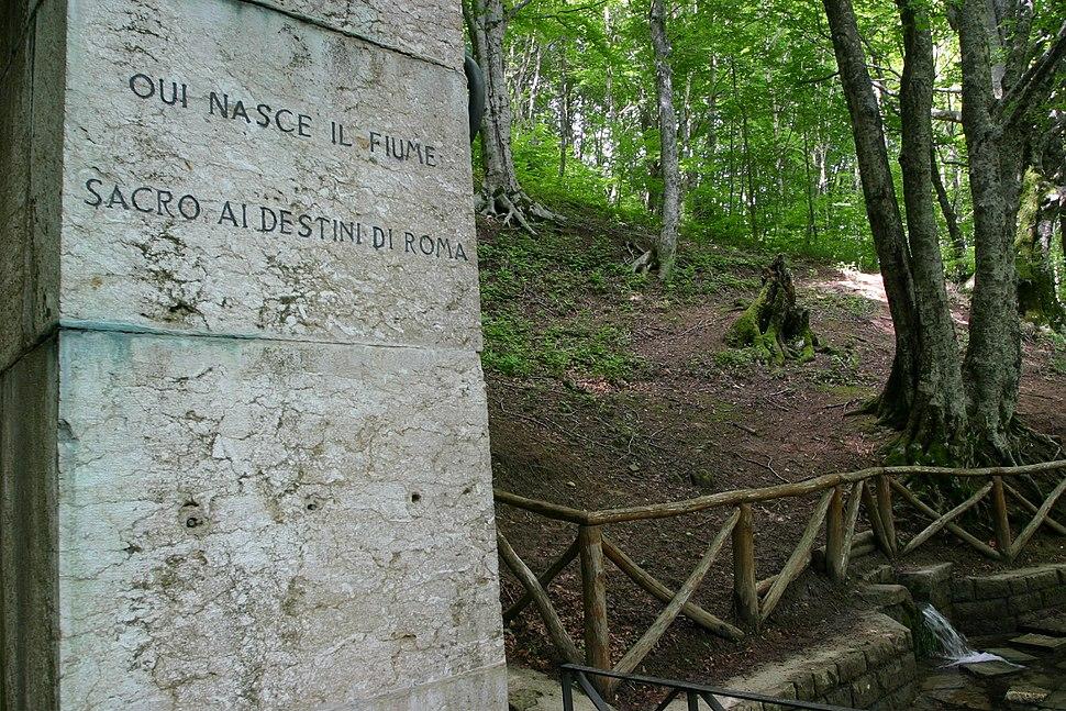 Source of Tiber