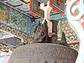 South Korea-Busan-Samgwangsa Bronze Bell Hook 3249-06.JPG