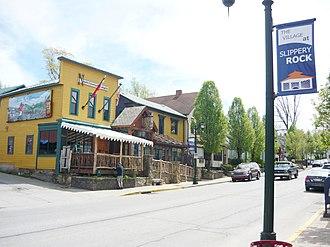 Slippery Rock, Pennsylvania - South Main Street in Slippery Rock