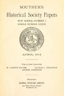 Southern Historical Society Papers volume 39.djvu
