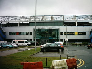 Sport in Leeds - South Leeds Stadium, home of Hunslet
