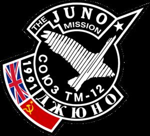 Helen Sharman - Image: Soyuz TM 12 patch