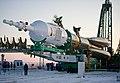 Soyuz TMA-03M rollout in Baikonur 01.jpg