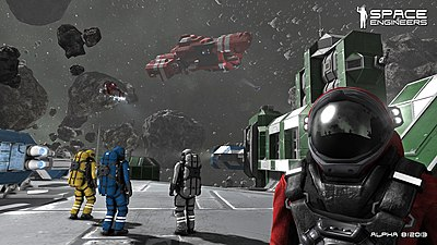 Picture of a game: Space Engineers