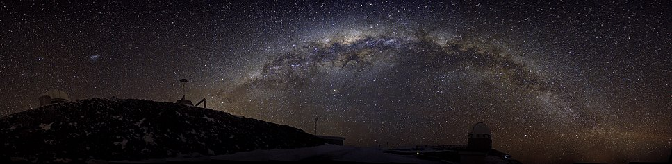 Sparkling Ribbon of Stars — The Southern Milky Way over La Silla