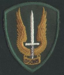 Canadian special forces knife patch