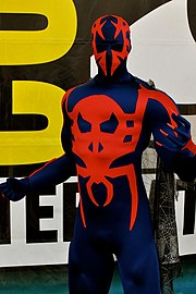 Cosplay de Spider-Man 2099.Comic Con 2010.