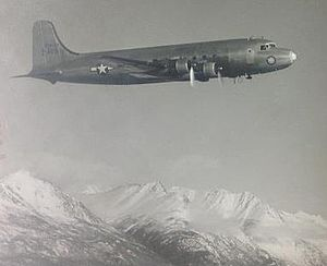 1950 Douglas C-54D disappearance - 42-72469, four years before it disappeared